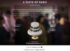 LIMITED EDITION 2018 : 20 x Paris Variations BLACK Nespresso Coffee Capsules.