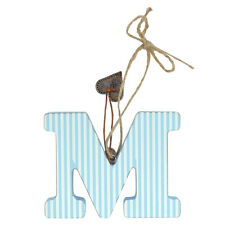 Letter M Sentiments From The Heart Hanging Letters Lovely Gifts Range