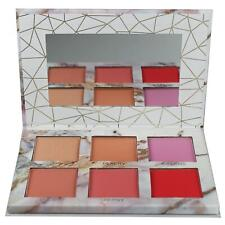 Blusher Palette Peach Pink Matte Blush Shimmer Glow Highlighter Body Collection