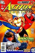 """ACTION COMICS #882 FN/VF - VF- """"THE HUNT FOR REACTRON"""" PART 3"""