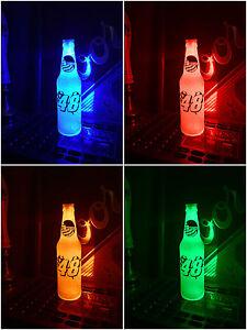 NASCAR #48 Jimmie Johnson Car Racing Beer Bottle 12oz Beer Bottle Light LED
