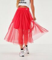 Adidas Women's Originals Layered Tulle Skirt in Pink Size X-Small 183390