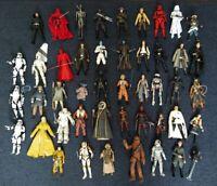 Star Wars Black Series Mega Lot 45 Hasbro Boba Fett Prototype Zuckuss Chewbacca