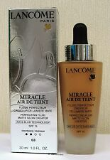 Lancome Miracle Air De Teint  Perfecting Fluid -30ml - Beige Diaphane - 03 BNIB