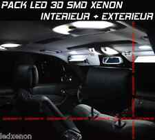 20 AMPOULE LED SMD XENON FIAT PANDA PACK TUNING KIT LED BLANC XENON 6000K