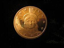 Statue Of Lady Liberty 1 oz Copper Bullion Coin Not scrap/junk The New Silver
