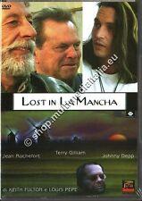 LOST IN LA MANCHA Johnny Depp - DVD NUOVO!