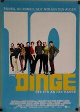 (Gerollt) Kinoplakat - 10 Dinge, die ich an Dir hasse (1999) Heath Ledger#2208