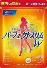 FANCL PERFECT SLIM W DIET SUPPLEMENT 180 tablet(30days) Slimming products, JAPAN
