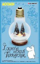 Moomin Light Bulb terrarium 1 Moomin & tooticky re-ment figure JAPAN
