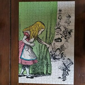 1977 Alice 500+ Piece Jigsaw Puzzle, Lewis Carroll, Vintage  Complete