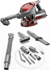 SHARK Rocket Ultra Light Hand Vacuum Cleaner & Car Detail Kit 15FT CORD I RED
