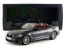 Paragon Models 2015 BMW M4 CABRIOLET (F83) Gray Dealer Edition 1/18 Scale New!