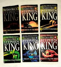 The Green Mile Serial Novel Set Books 1-6First Printing 1996 King Pre-owned.