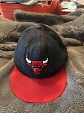 NBA UFFICIALE NEW ERA Chicago Bulls Denim Scamosciato Cappellino Da  Baseball   7 1 4 57.7cm caffbc44cc9c