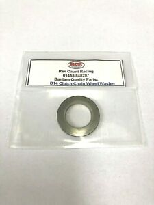 BSA BANTAM 4 SP CLUTCH CHAIN WHEEL WASHER-FITS UP TO BALL BEARING 2MM THICK B205