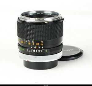 * Lens Canon FD 2/35mm