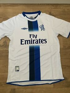 Retro Chelsea 2003/05 away football shirt. Sizes M, L , XL. BNWT