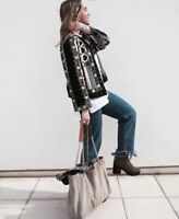 $149 BNWT Zara Women EMBROIDERED JACKET 7521/273 Blogger/Celebrity Favorite
