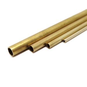 Tubes Laiton 1/1.5/2/3/4/5mm 30cm Pour Modélisme / Maquettisme 1/35 1/24 HO Tube