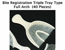 Bite Registration Triple Tray Type Full Arch-40 Pieces