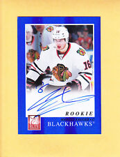 2011 12 ELITE ROOKIE AUTO # 212 MARCUS KRUGER CHICAGO BLACKHAWKS RC AUTO