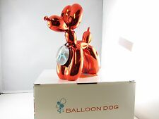 Balloon Dogs- Red Metallic finish/ Home decor/ Fine craft/ Perfect gift/