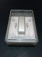 New Rare Sealed Apple iPod Shuffle 3rd Gen Silver 2GB MC306QB/A