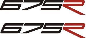 Triumph Daytona 675R Vinyl stickers