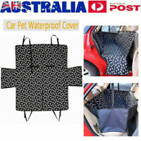 Pet Dog Car Seat Cover Hammock Pad Back Rear Protector Mat Waterproof Non-slip