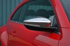 Per adattarsi VW VOLKSWAGEN BEETLE 2012 +: Chrome WING MIRROR TRIM SET copre CAPS