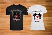 Celebrating Anniversary at Disney Mickey/Minnie  Matching Couples T-Shirts