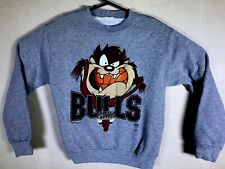 ViTG 1996 Taz Chicago Bulls NBA Sweatshirt SMALL LOONEY TUNES EUC Michael Jordan
