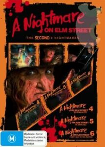 NIGHTMARE ON ELM STREET 4 + 5 + 6 DVD - Dream Master + Child + Freddy's Dead