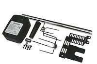 EXTRA QUIET MOTOR BBQ BARBECUE ROTISSERIE SPIT UNIVERSAL KIT 36 Inch SKEWER