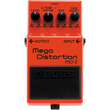 BOSS MD-2 Mega Distortion Guitar Effects Pedal +Picks