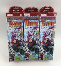 Marvel Heroclix The Mighty Thor x3 Boosters