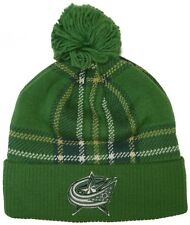 Columbus Blue Jackets adidas St. Patricks Day Knit Hat 5fec5d1dce5a