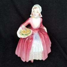 Royal Doulton England Janet HN1537 Porcelain Figurine Basket of Flowers