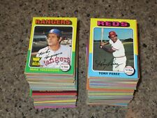 1975 Topps Baseball U Pick 10 HIGH GRADE NM+ cards STARS SHARP complete your set
