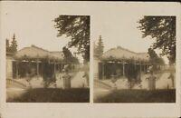 Francia Vittel la Parc, Stereo Cartolina Analogica Ca 1920