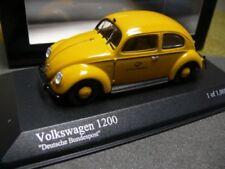 MINICHAMPS 1/43 431051292 VW Brezelkäfer (1951) deutsche Bundespost