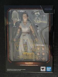 Bandai S.H. Figuarts Rey & D-O Star Wars Episode IX Rise of Skywalker / New