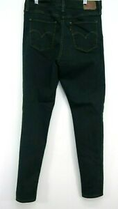 Levis Womens 720 Green Dyed High Rise Super Skinny Denim Jeans 10 Med / 30 x 30