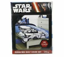 Star Wars Stormtrooper Quilt Cover Set (Queen Bed) NEW & SEALED