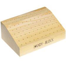 Blocco in legno porta punte da trapano frese