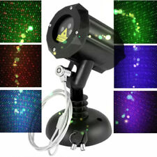Moving Firefly Rgb Outdoor Garden Laser Christmas Lights with Remote Control Wf
