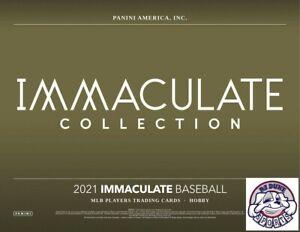 Mike Trout 2021 Immaculate Baseball Full Case 8Box Break