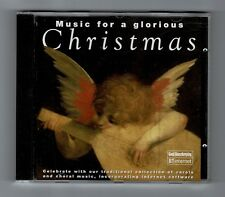 MUSIC FOR A GLORIOUS CHRISTMAS Carols and Choral Music CD Album L18