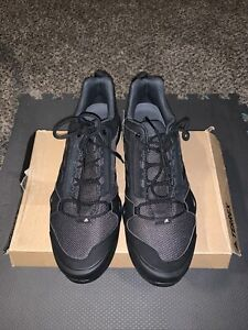Adidas Mens Shoes TERREX AX3 MEN'S HIKING Carbon Black OUTDOOR Shoes Size 14